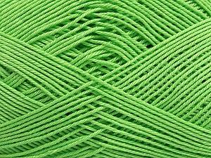 Ne: 8/4. Nm 14/4 Fiber Content 100% Mercerised Cotton, Brand Ice Yarns, Green, Yarn Thickness 2 Fine Sport, Baby, fnt2-49596