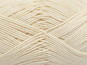 Ne: 8/4. Nm 14/4 Fiber Content 100% Mercerised Cotton, Brand Ice Yarns, Ecru, Yarn Thickness 2 Fine Sport, Baby, fnt2-49603