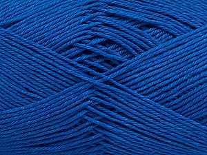 Ne: 8/4. Nm 14/4 Fiber Content 100% Mercerised Cotton, Brand Ice Yarns, Blue, Yarn Thickness 2 Fine Sport, Baby, fnt2-49604