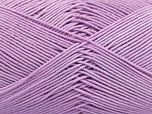 Ne: 8/4. Nm 14/4 Fiber Content 100% Mercerised Cotton, Lilac, Brand Ice Yarns, Yarn Thickness 2 Fine  Sport, Baby, fnt2-49606