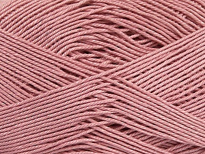 Ne: 8/4. Nm 14/4 Fiber Content 100% Mercerised Cotton, Rose Pink, Brand Ice Yarns, Yarn Thickness 2 Fine  Sport, Baby, fnt2-49609