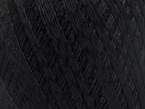 Ne: 10/3 +600d. Viscose. Nm: 17/3 Fiber Content 72% Mercerised Cotton, 28% Viscose, Brand Ice Yarns, Black, Yarn Thickness 1 SuperFine  Sock, Fingering, Baby, fnt2-49857