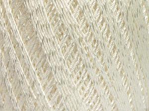 Ne: 10/3 +600d. Viscose. Nm: 17/3 Fiber Content 72% Mercerised Cotton, 28% Viscose, White, Brand Ice Yarns, Yarn Thickness 1 SuperFine  Sock, Fingering, Baby, fnt2-49858
