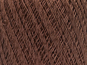 Ne: 10/3 +600d. Viscose. Nm: 17/3 Fiber Content 72% Mercerised Cotton, 28% Viscose, Brand Ice Yarns, Brown, Yarn Thickness 1 SuperFine  Sock, Fingering, Baby, fnt2-49860