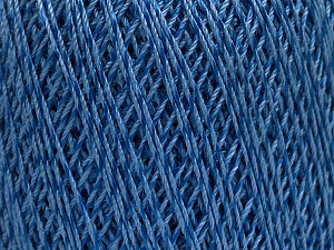 Ne: 10/3 +600d. Viscose. Nm: 17/3 Fiber Content 72% Mercerised Cotton, 28% Viscose, Brand Ice Yarns, Blue, Yarn Thickness 1 SuperFine  Sock, Fingering, Baby, fnt2-49861