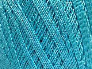 Ne: 10/3 +600d. Viscose. Nm: 17/3 Fiber Content 72% Mercerised Cotton, 28% Viscose, Light Turquoise, Brand Ice Yarns, Yarn Thickness 1 SuperFine  Sock, Fingering, Baby, fnt2-49863