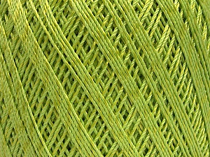 Ne: 10/3 +600d. Viscose. Nm: 17/3 Fiber Content 72% Mercerised Cotton, 28% Viscose, Light Green, Brand Ice Yarns, Yarn Thickness 1 SuperFine  Sock, Fingering, Baby, fnt2-49865