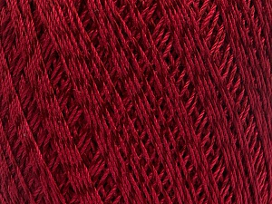 Ne: 10/3 +600d. Viscose. Nm: 17/3 Fiber Content 72% Mercerised Cotton, 28% Viscose, Brand Ice Yarns, Burgundy, Yarn Thickness 1 SuperFine  Sock, Fingering, Baby, fnt2-49867