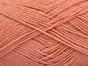 Fiber Content 100% Cotton, Light Salmon, Brand Ice Yarns, Yarn Thickness 2 Fine Sport, Baby, fnt2-50098
