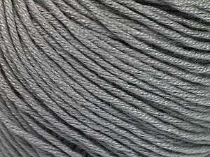 Fiber Content 60% Bamboo, 40% Cotton, Brand Ice Yarns, Grey, Yarn Thickness 3 Light  DK, Light, Worsted, fnt2-50533