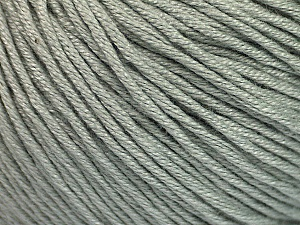 Fiber Content 60% Bamboo, 40% Cotton, Light Grey, Brand Ice Yarns, Yarn Thickness 3 Light  DK, Light, Worsted, fnt2-50534