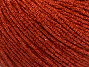 Fiber Content 60% Bamboo, 40% Cotton, Terra Cotta, Brand Ice Yarns, Yarn Thickness 3 Light  DK, Light, Worsted, fnt2-50537