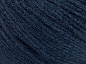 Fiber Content 60% Bamboo, 40% Cotton, Navy, Brand Ice Yarns, Yarn Thickness 3 Light  DK, Light, Worsted, fnt2-50549