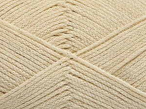 Fiber Content 100% Cotton, Brand Ice Yarns, Ecru, Yarn Thickness 2 Fine  Sport, Baby, fnt2-50586