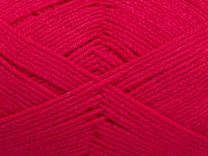 Fiber Content 100% Cotton, Brand Ice Yarns, Fuchsia, Yarn Thickness 2 Fine  Sport, Baby, fnt2-50590