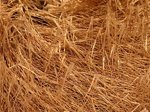Fiber Content 100% Polyester, Light Brown, Brand ICE, Yarn Thickness 5 Bulky Chunky, Craft, Rug, fnt2-50637
