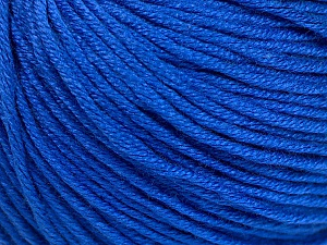 Fiber Content 60% Bamboo, 40% Cotton, Brand Ice Yarns, Dark Blue, Yarn Thickness 3 Light  DK, Light, Worsted, fnt2-50669