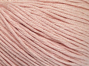 Fiber Content 60% Bamboo, 40% Cotton, Light Pink, Brand Ice Yarns, Yarn Thickness 3 Light  DK, Light, Worsted, fnt2-50689