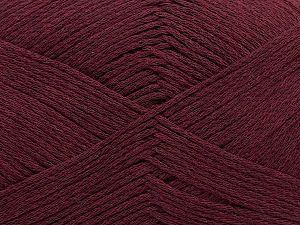 Fiber Content 100% Cotton, Maroon, Brand Ice Yarns, Yarn Thickness 2 Fine  Sport, Baby, fnt2-50694