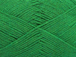 Fiber Content 100% Cotton, Brand Ice Yarns, Green, Yarn Thickness 2 Fine  Sport, Baby, fnt2-50695