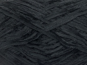 Fiber Content 100% Polyester, Brand Ice Yarns, Black, Yarn Thickness 1 SuperFine  Sock, Fingering, Baby, fnt2-50815