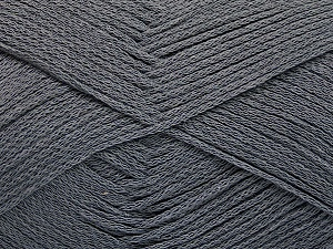 Fiber Content 100% Cotton, Brand Ice Yarns, Dark Grey, Yarn Thickness 2 Fine  Sport, Baby, fnt2-51099