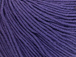 Fiber Content 60% Cotton, 40% Acrylic, Purple, Brand Ice Yarns, Yarn Thickness 2 Fine  Sport, Baby, fnt2-51212