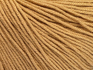 Fiber Content 60% Cotton, 40% Acrylic, Light Brown, Brand Ice Yarns, Yarn Thickness 2 Fine Sport, Baby, fnt2-51219