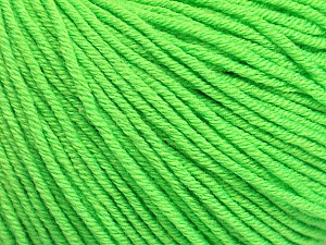 Fiber Content 60% Cotton, 40% Acrylic, Light Green, Brand Ice Yarns, Yarn Thickness 2 Fine Sport, Baby, fnt2-51227