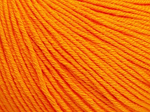 Fiber Content 60% Cotton, 40% Acrylic, Orange, Brand Ice Yarns, Yarn Thickness 2 Fine Sport, Baby, fnt2-51230