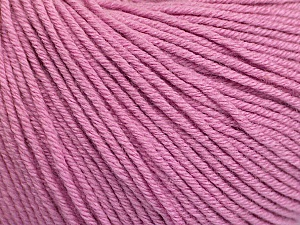 Fiber Content 60% Cotton, 40% Acrylic, Light Orchid, Brand Ice Yarns, Yarn Thickness 2 Fine  Sport, Baby, fnt2-51243