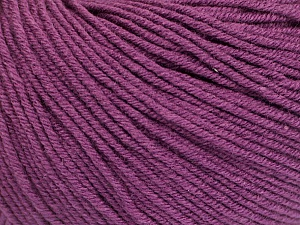 Fiber Content 60% Cotton, 40% Acrylic, Maroon, Brand Ice Yarns, Yarn Thickness 2 Fine  Sport, Baby, fnt2-51248