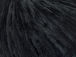 Fiber Content 100% Polyester, Brand Ice Yarns, Black, Yarn Thickness 1 SuperFine  Sock, Fingering, Baby, fnt2-51362
