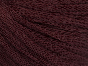 Fiber Content 50% Wool, 50% Acrylic, Maroon, Brand Ice Yarns, Yarn Thickness 4 Medium  Worsted, Afghan, Aran, fnt2-51468