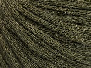 Fiber Content 50% Acrylic, 50% Wool, Khaki, Brand Ice Yarns, Yarn Thickness 4 Medium  Worsted, Afghan, Aran, fnt2-51475