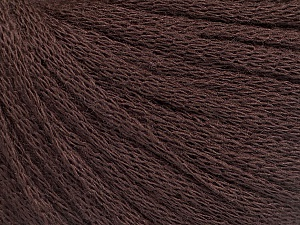 Fiber Content 50% Wool, 50% Acrylic, Brand Ice Yarns, Brown, Yarn Thickness 4 Medium  Worsted, Afghan, Aran, fnt2-51483