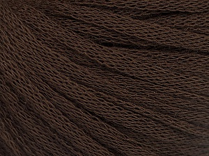Fiber Content 50% Wool, 50% Acrylic, Brand Ice Yarns, Dark Brown, Yarn Thickness 4 Medium  Worsted, Afghan, Aran, fnt2-51494