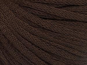 Fiber Content 50% Wool, 50% Acrylic, Brand Ice Yarns, Dark Brown, Yarn Thickness 4 Medium  Worsted, Afghan, Aran, fnt2-51494