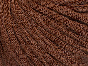 Fiber Content 50% Wool, 50% Acrylic, Brand Ice Yarns, Brown, Yarn Thickness 4 Medium  Worsted, Afghan, Aran, fnt2-51495