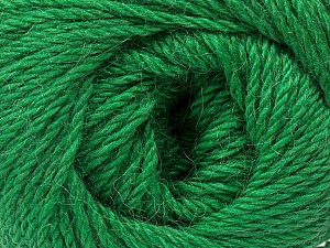 Fiber Content 45% Alpaca, 30% Polyamide, 25% Wool, Brand Ice Yarns, Green, Yarn Thickness 3 Light  DK, Light, Worsted, fnt2-51530