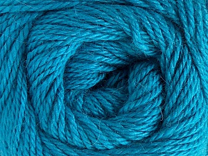 Fiber Content 45% Alpaca, 30% Polyamide, 25% Wool, Turquoise, Brand Ice Yarns, Yarn Thickness 3 Light  DK, Light, Worsted, fnt2-51531
