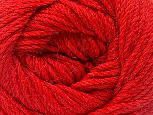 Fiber Content 45% Alpaca, 30% Polyamide, 25% Wool, Tomato Red, Brand Ice Yarns, Yarn Thickness 3 Light  DK, Light, Worsted, fnt2-51533