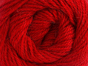 Fiber Content 45% Alpaca, 30% Polyamide, 25% Wool, Brand Ice Yarns, Dark Red, Yarn Thickness 3 Light  DK, Light, Worsted, fnt2-51534