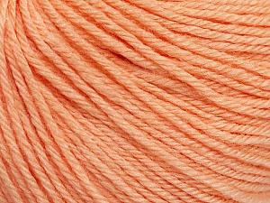 Fiber Content 40% Acrylic, 40% Merino Wool, 20% Polyamide, Light Salmon, Brand Ice Yarns, Yarn Thickness 2 Fine  Sport, Baby, fnt2-51545