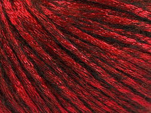 Fiber Content 70% Polyamide, 19% Merino Wool, 11% Acrylic, Red, Brand Ice Yarns, Black, Yarn Thickness 4 Medium  Worsted, Afghan, Aran, fnt2-51554
