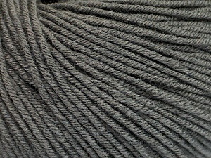 Fiber Content 60% Cotton, 40% Acrylic, Brand Ice Yarns, Grey, Yarn Thickness 2 Fine  Sport, Baby, fnt2-51562