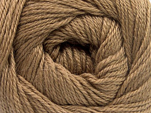 Fiber Content 45% Alpaca, 30% Polyamide, 25% Wool, Light Brown, Brand Ice Yarns, Yarn Thickness 2 Fine  Sport, Baby, fnt2-51590