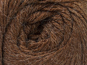 Fiber Content 45% Alpaca, 30% Polyamide, 25% Wool, Brand Ice Yarns, Brown, Yarn Thickness 2 Fine  Sport, Baby, fnt2-51591