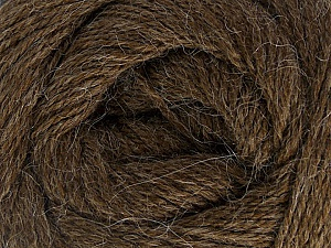 Fiber Content 45% Alpaca, 30% Polyamide, 25% Wool, Brand Ice Yarns, Dark Brown, Yarn Thickness 2 Fine  Sport, Baby, fnt2-51592
