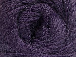 Fiber Content 45% Alpaca, 30% Polyamide, 25% Wool, Purple, Brand Ice Yarns, Yarn Thickness 2 Fine  Sport, Baby, fnt2-51597